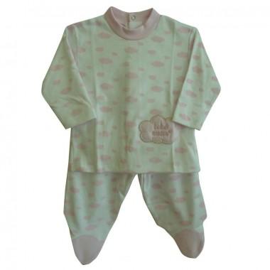 Pijama Bebé «Nuvens»