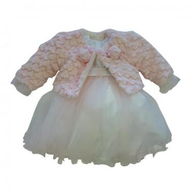Vestido+Bolero Cerimónia Bebé