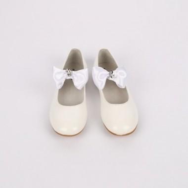 Sapato Menina «Laço/Pedra Brilhante»