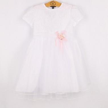 Vestido Menina Cerimónia «Peito Rendado»