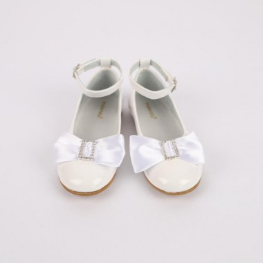 Sapato Menina «Laço/Fivela»