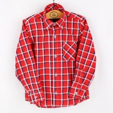 Camisa Menino «Xadrez Grande»