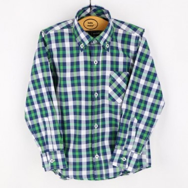 Camisa Menino «Xadrez Pequeno»